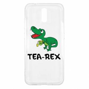 Etui na Nokia 2.3 Mały dinozaur z herbatą
