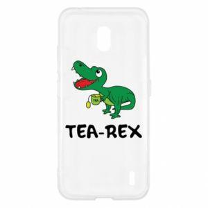 Etui na Nokia 2.2 Mały dinozaur z herbatą