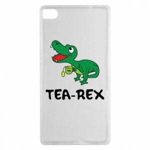 Etui na Huawei P8 Mały dinozaur z herbatą