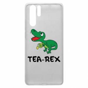 Etui na Huawei P30 Pro Mały dinozaur z herbatą