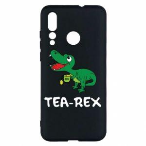 Etui na Huawei Nova 4 Mały dinozaur z herbatą