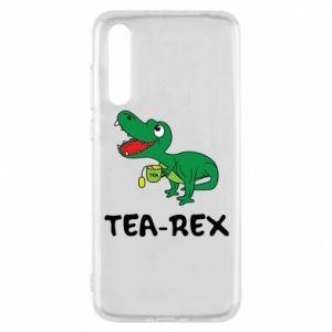Etui na Huawei P20 Pro Mały dinozaur z herbatą
