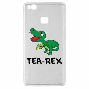 Etui na Huawei P9 Lite Mały dinozaur z herbatą