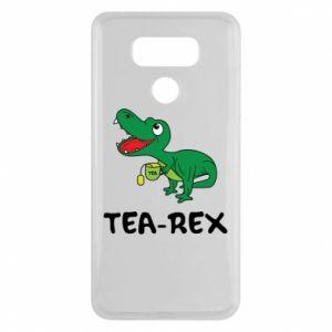 Etui na LG G6 Mały dinozaur z herbatą