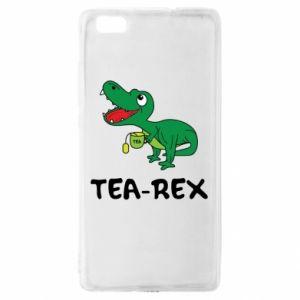 Etui na Huawei P 8 Lite Mały dinozaur z herbatą