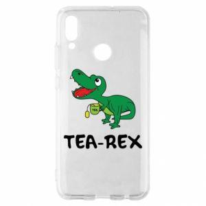 Etui na Huawei P Smart 2019 Mały dinozaur z herbatą