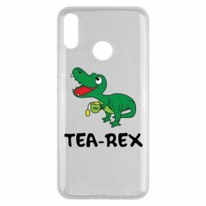 Etui na Huawei Y9 2019 Mały dinozaur z herbatą