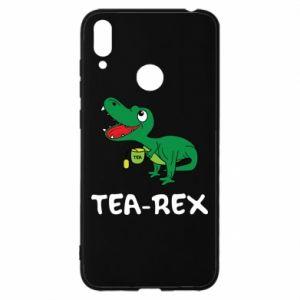 Etui na Huawei Y7 2019 Mały dinozaur z herbatą