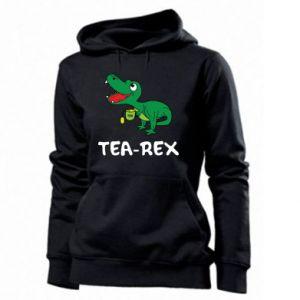 Damska bluza Mały dinozaur z herbatą - PrintSalon
