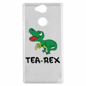 Etui na Sony Xperia XA2 Mały dinozaur z herbatą