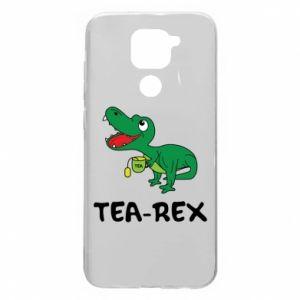 Etui na Xiaomi Redmi Note 9/Redmi 10X Mały dinozaur z herbatą