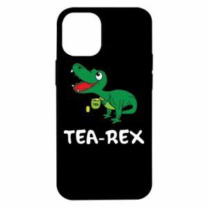 Etui na iPhone 12 Mini Mały dinozaur z herbatą