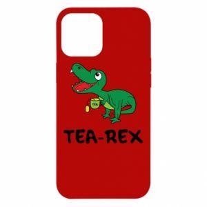 Etui na iPhone 12 Pro Max Mały dinozaur z herbatą