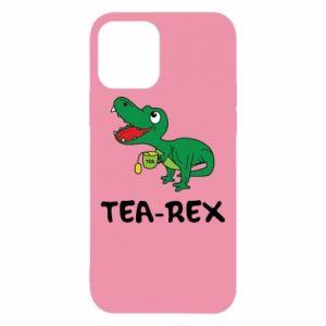 Etui na iPhone 12/12 Pro Mały dinozaur z herbatą