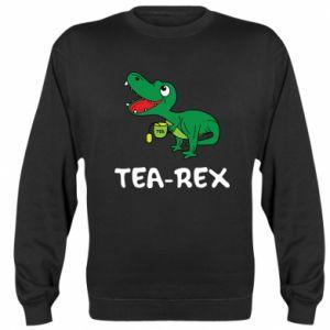 Bluza (raglan) Mały dinozaur z herbatą - PrintSalon