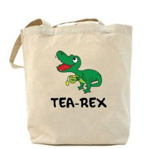 Bag Little dinosaur with tea