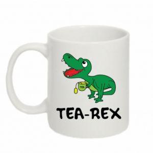 Kubek 330ml Mały dinozaur z herbatą - PrintSalon