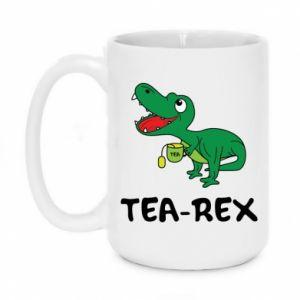 Kubek 450ml Mały dinozaur z herbatą - PrintSalon