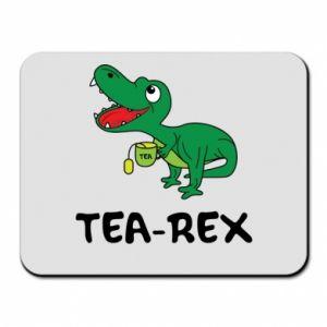 Podkładka pod mysz Mały dinozaur z herbatą - PrintSalon