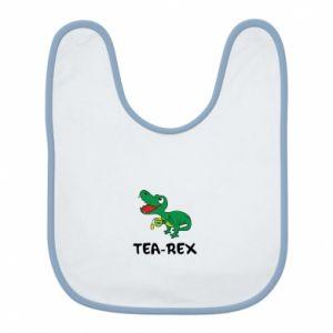 Śliniak Mały dinozaur z herbatą - PrintSalon