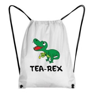 Backpack-bag Little dinosaur with tea