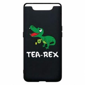 Etui na Samsung A80 Mały dinozaur z herbatą