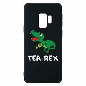 Etui na Samsung S9 Mały dinozaur z herbatą - PrintSalon