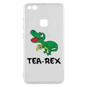 Etui na Huawei P10 Lite Mały dinozaur z herbatą