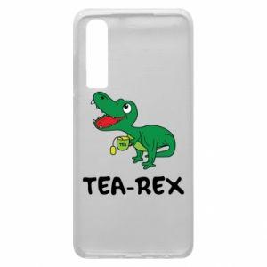 Etui na Huawei P30 Mały dinozaur z herbatą - PrintSalon