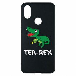 Etui na Xiaomi Mi A2 Mały dinozaur z herbatą - PrintSalon