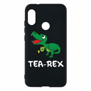 Etui na Mi A2 Lite Mały dinozaur z herbatą