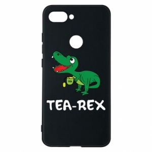 Phone case for Xiaomi Mi8 Lite Little dinosaur with tea