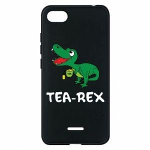 Etui na Xiaomi Redmi 6A Mały dinozaur z herbatą - PrintSalon