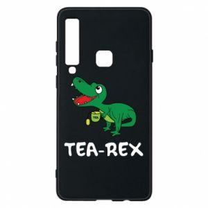 Etui na Samsung A9 2018 Mały dinozaur z herbatą - PrintSalon