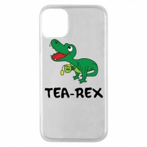 Etui na iPhone 11 Pro Mały dinozaur z herbatą