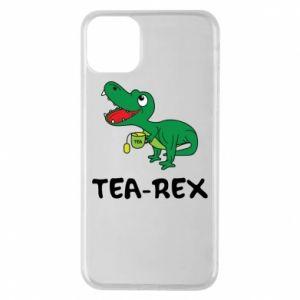 Etui na iPhone 11 Pro Max Mały dinozaur z herbatą