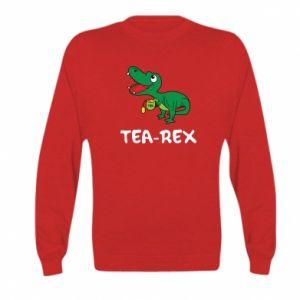Bluza dziecięca Mały dinozaur z herbatą