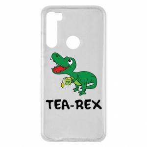 Etui na Xiaomi Redmi Note 8 Mały dinozaur z herbatą