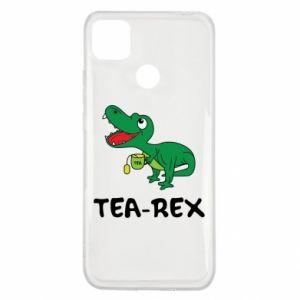 Etui na Xiaomi Redmi 9c Mały dinozaur z herbatą