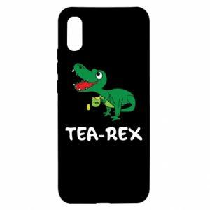 Etui na Xiaomi Redmi 9a Mały dinozaur z herbatą