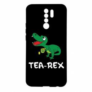 Etui na Xiaomi Redmi 9 Mały dinozaur z herbatą