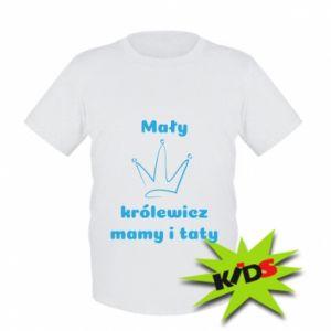 Dziecięcy T-shirt Mały królewicz