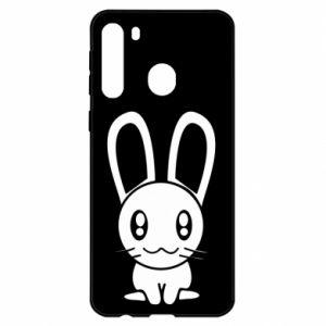 Samsung A21 Case Little Bunny