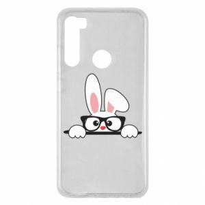 Xiaomi Redmi Note 8 Case Bunny with glasses