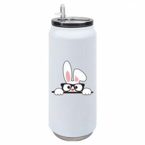 Puszka termiczna Mały królik w okularach