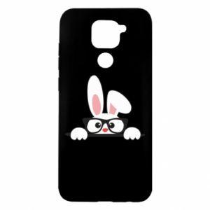 Etui na Xiaomi Redmi Note 9/Redmi 10X Mały królik w okularach