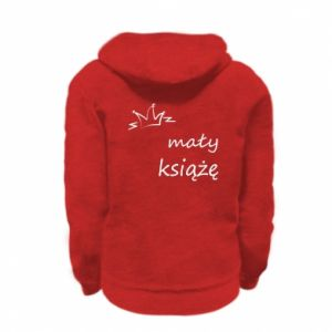 Kid's zipped hoodie % print% Little prince