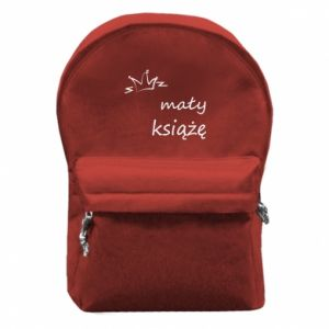 Backpack with front pocket Little prince