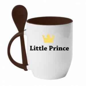 Mug with ceramic spoon Little prince