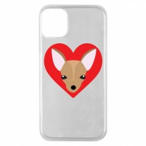 Phone case for iPhone 11 Pro A little dog